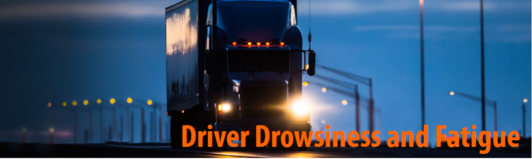 Driver Drowsiness and Fatigue Header